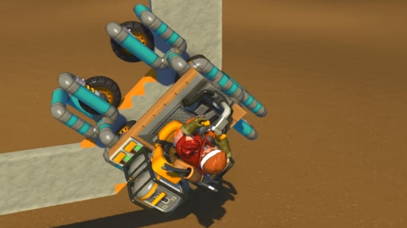 Scrap Mechanic creations Spider Car