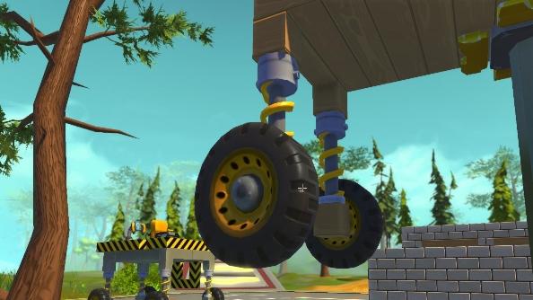 Scrap Mechanic guide suspension