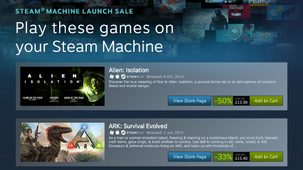 Valve mark Steam Machine launch with massive mid-week sale | PCGamesN