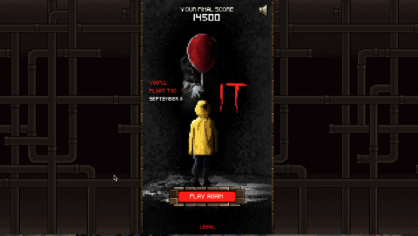 Stephen King's IT free browser game