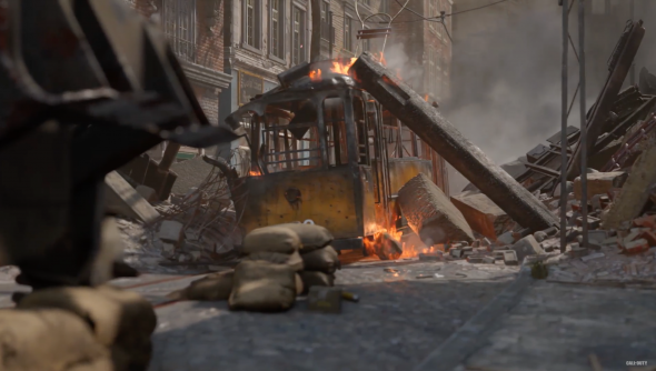 Call of Duty: WWII Aachen Map