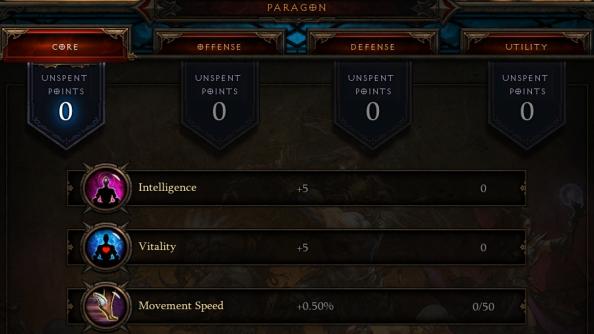 Diablo III Paragon