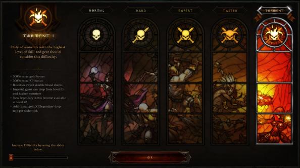Diablo III Difficulty System