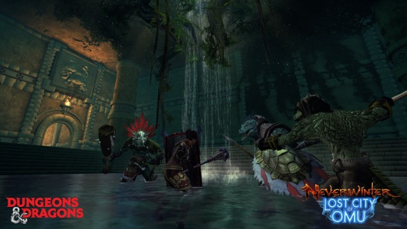Lizardmen and zombie dinosaurs abound in Neverwinter's Lost City of Omu expansion