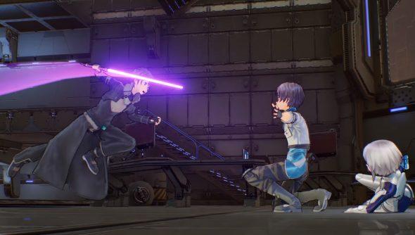 Sword Art Online Fatal Bullet Due On Steam February 8 Looks Like An Anime Mass Effect