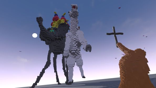 Making it in Unreal: SculptrVR is the Vive's Minecraft (as played by