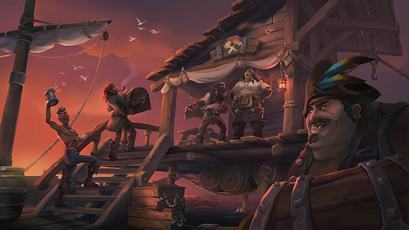Even its villainous pirates conform to a colourful, friendly aesthetic