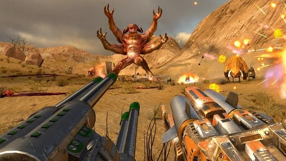 Serious Sam First Encounter VR