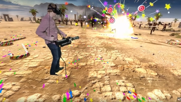 Serious Sam VR Mixed Reality