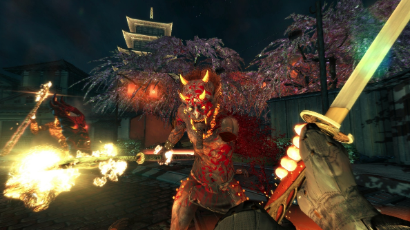 Shadow Warrior trailer spills blood by the gallon to power rock anthem