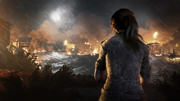 Shadow of the Tomb Raider storm