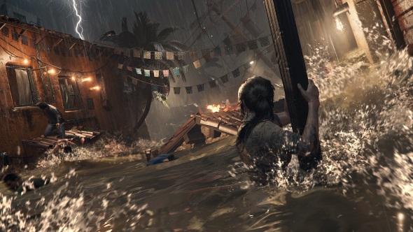 Shadow of the Tomb Raider tsunami