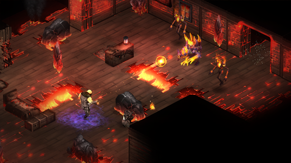 Shadowrun: Dragonfall - Director's Cut team rebuilt gore from the organs up