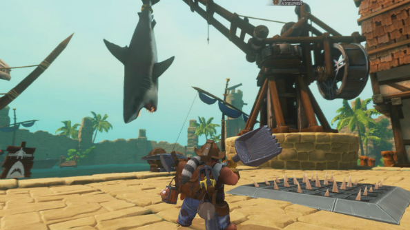 Orcs Must Die! Unchained shark island