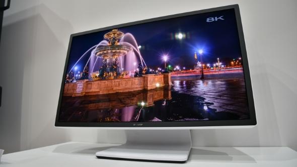 Sharp 8K prototype HDR monitor