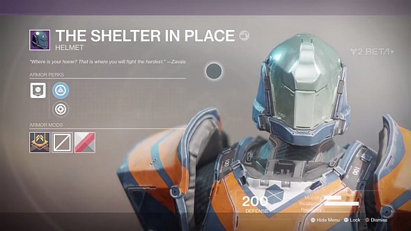 Shelter in Place helmet