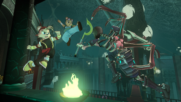 Shiness: The Lightning Kingdom is a deep fighting game nestled inside a gorgeous JRPG