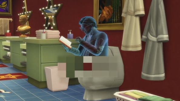 You might find a ghost on your toilet in Sims 4 this month, and in your pools in November