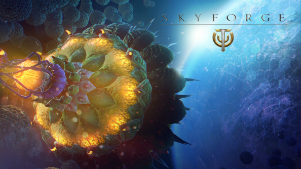 Free-to-play MMO Skyforge has an expansion on the way, and it's about invading plants