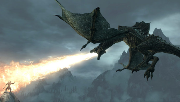 Skyrim_Dragon