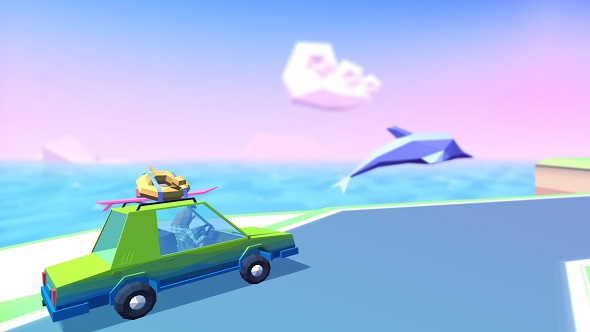 Sloth racing game Slowdrive is now available on Steam - perfect for a Sunday drive