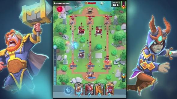 Smite Rivals gameplay header