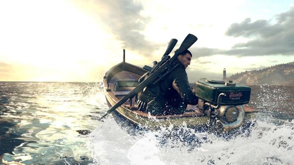 Sniper Elite 4 campaign boat