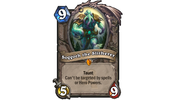 Best Hearthstone Legendary cards Soggoth the Slitherer