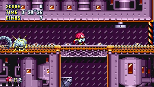 Sonic Mania Knuckles