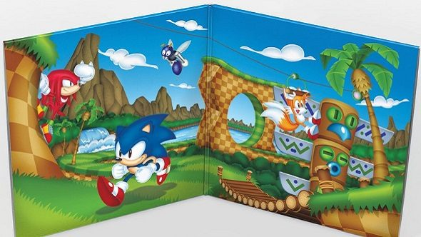 Sonic Mania vinyl