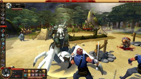 Sorcerer King Rivals combat