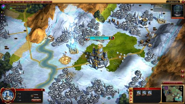 Sorcerer King Rivals map