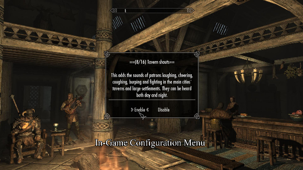 Sounds of Skyrim mod