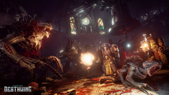 Space Hulk Deathwing Hellfire Greenstealers Heavy Flamer Patch Multiplayer