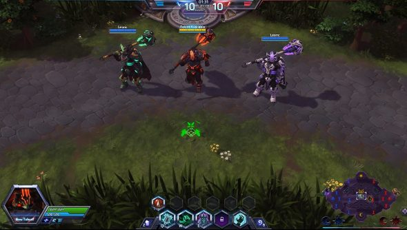 Heroes of the storm s leoric channels his inner darth - Heroes of the storm space lord leoric ...