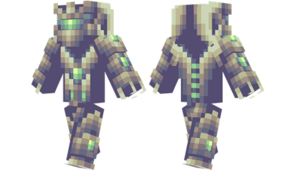 best minecraft skins Space paladin