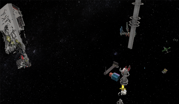 StarMade is Minecraft spliced with Eve Online
