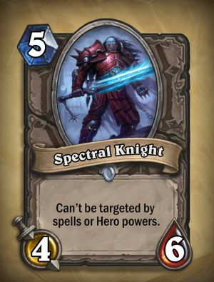 Spectral Knight Hearthstone Card