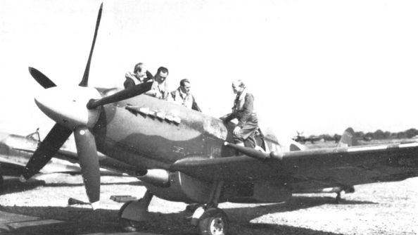 Wargaming launch blog documenting their dig for buried Spitfires
