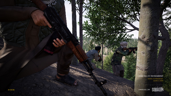 Squad is a 100 player FPS from the team behind Battlefield 2's Project Reality mod