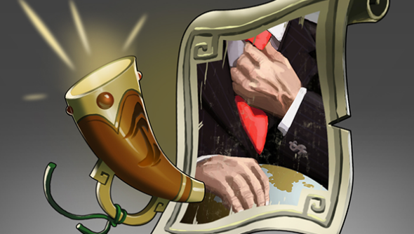 The Stanley Parable Dota 2 Announcer