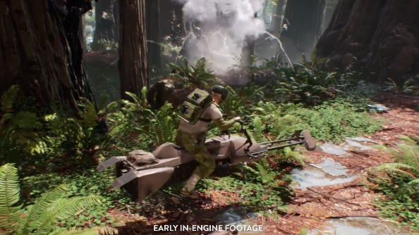 DICE went on a fieldtrip to Hoth to make Star Wars Battlefront as faithful as possible