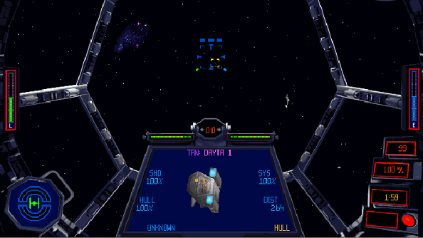 Best space game Star Wars: TIE Fighter Special Edition