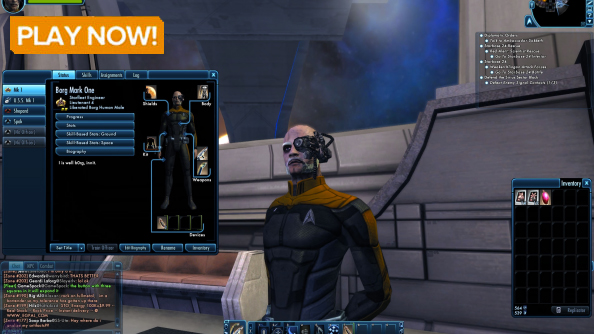 Best space games Star Trek Online