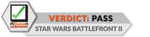 Star Wars Battlefront 2 PC performance verdict