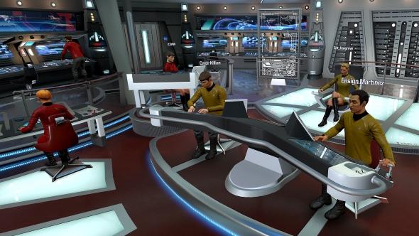 Star Trek Bridge Crew non VR Aegis bridge