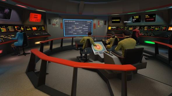 Star Trek Bridge Crew non VR TOS bridge