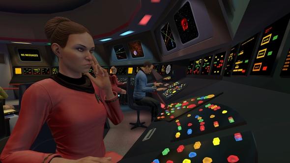 Star Trek Bridge Crew non VR TOS controls