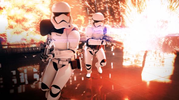 Star Wars Battlefront 2 Stormtroopers
