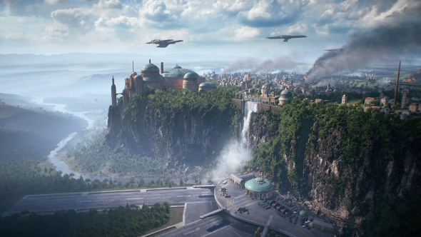Star Wars Battlefront 2 Naboo Theed map